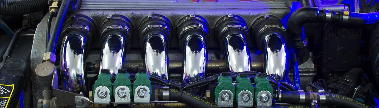 Gasanlage einbauen