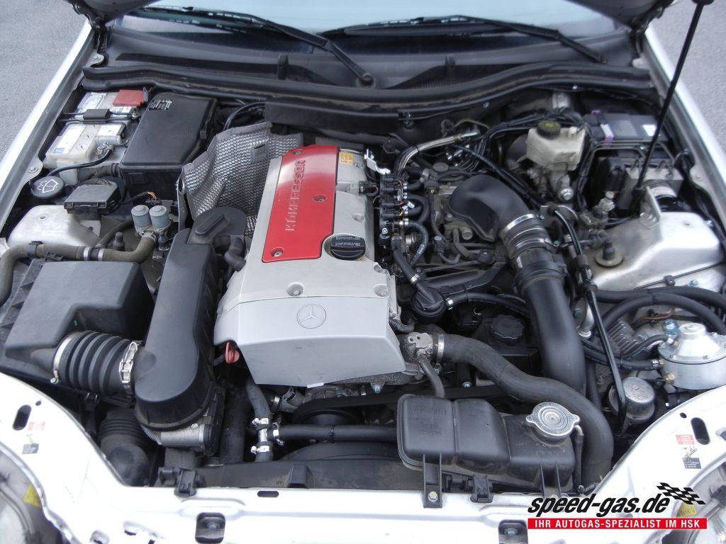 Mercedes Slk 230 Kompressor R170 Speed Gas De