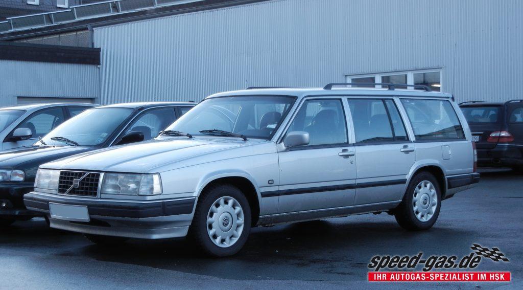 Super Volvo 940 mit LPG Autogas Umrüstung – speed-gas.de DA-21