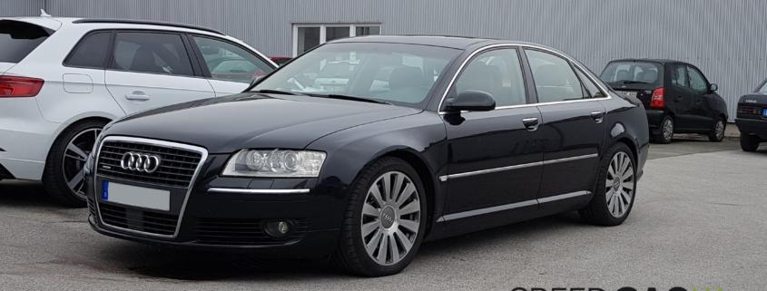 Audi A8 4.2 FSI Autogas