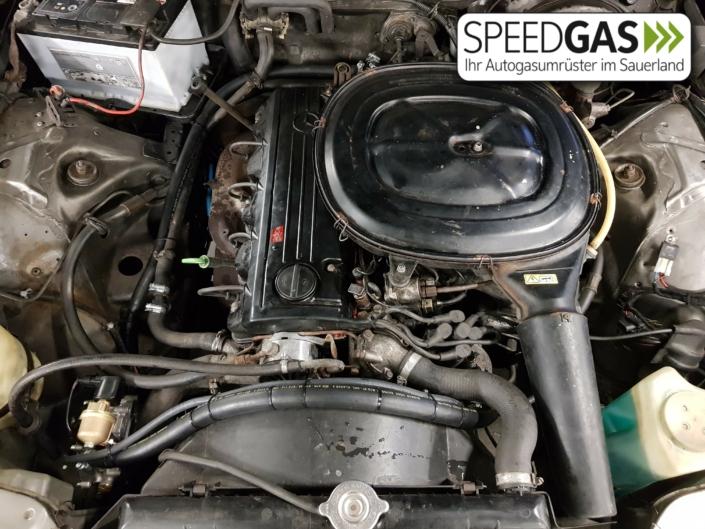 Mercedes Benz S123 Venturi Gasumbau