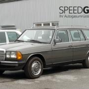 Mercedes Benz W123 mit Autogas