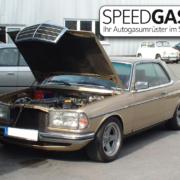 W123 Venturi Gasanlage