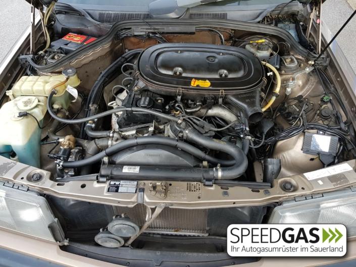 W201 190E Venturi Autogas Gasanlage