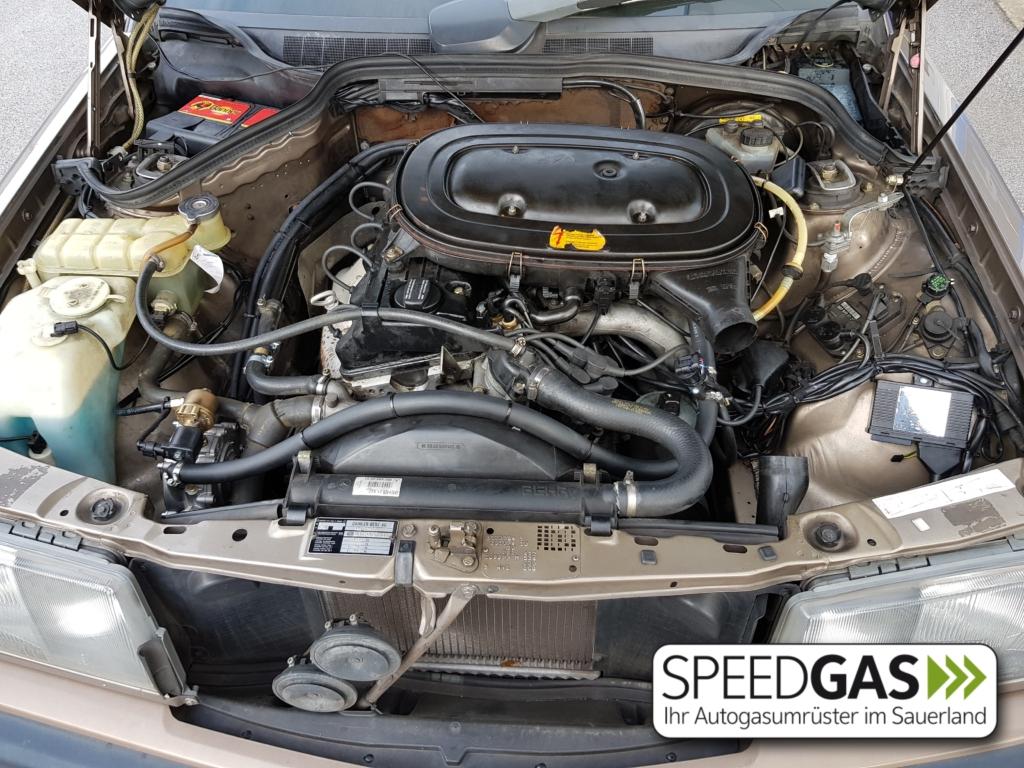 Mercedes Benz 190E mit Ke-Jetronic und Venturi Autogas Gasanlage