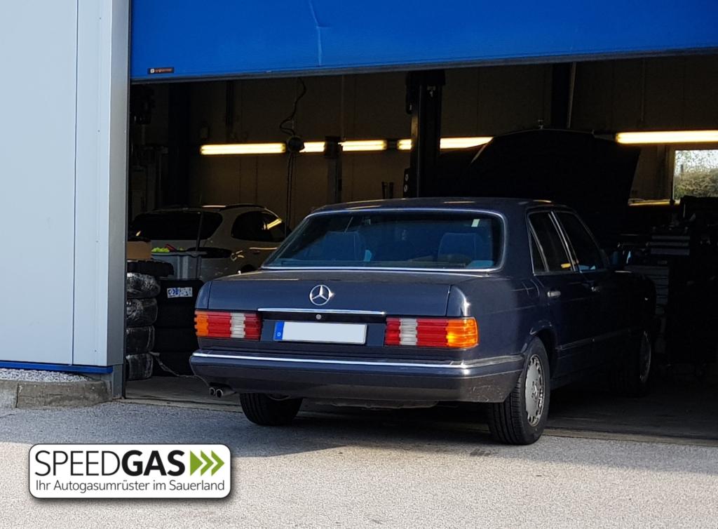 Mercedes W126 Autogas