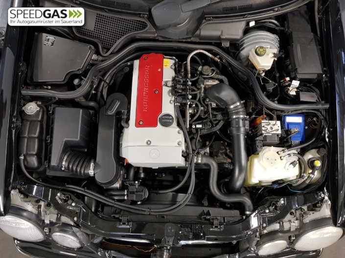 Mercedes W210 Kompressor LPG