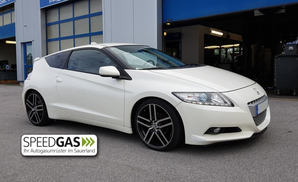 Honda CRZ Hybrid mit LPG Autogas