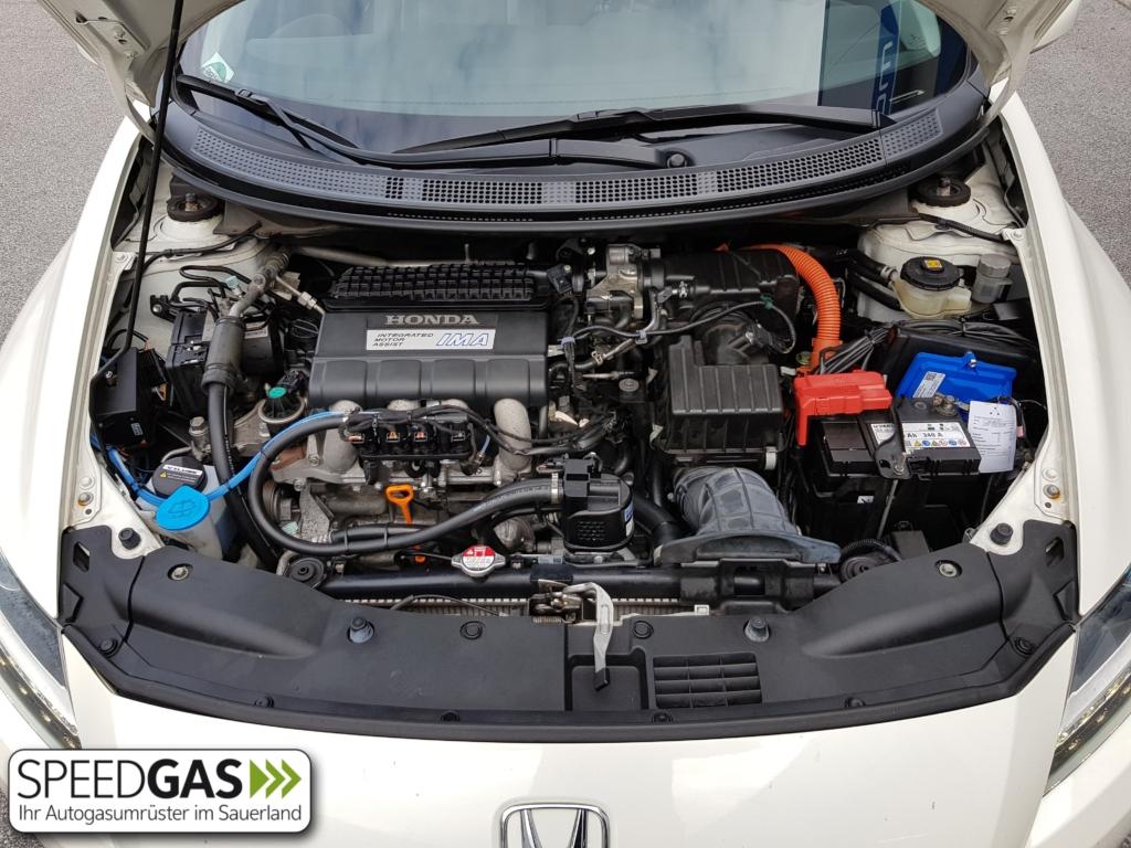 Honda CRZ Hybrid mit Prins VSI2 Gasanlage