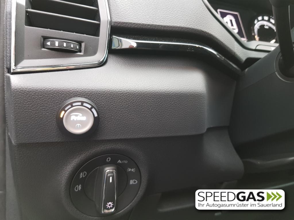 Skoda Karoq 1.5 TFSI LPG Autogas Umschalter