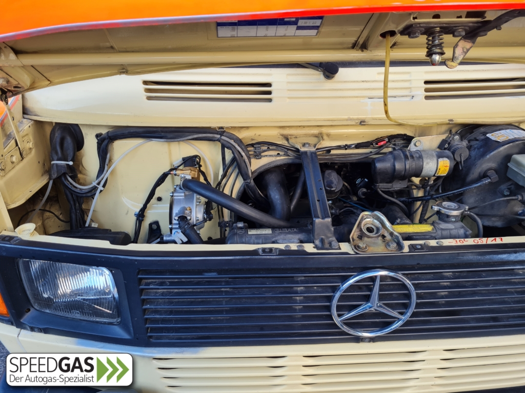 Mercedes Benz T1 Verdampfer Landi Renzo