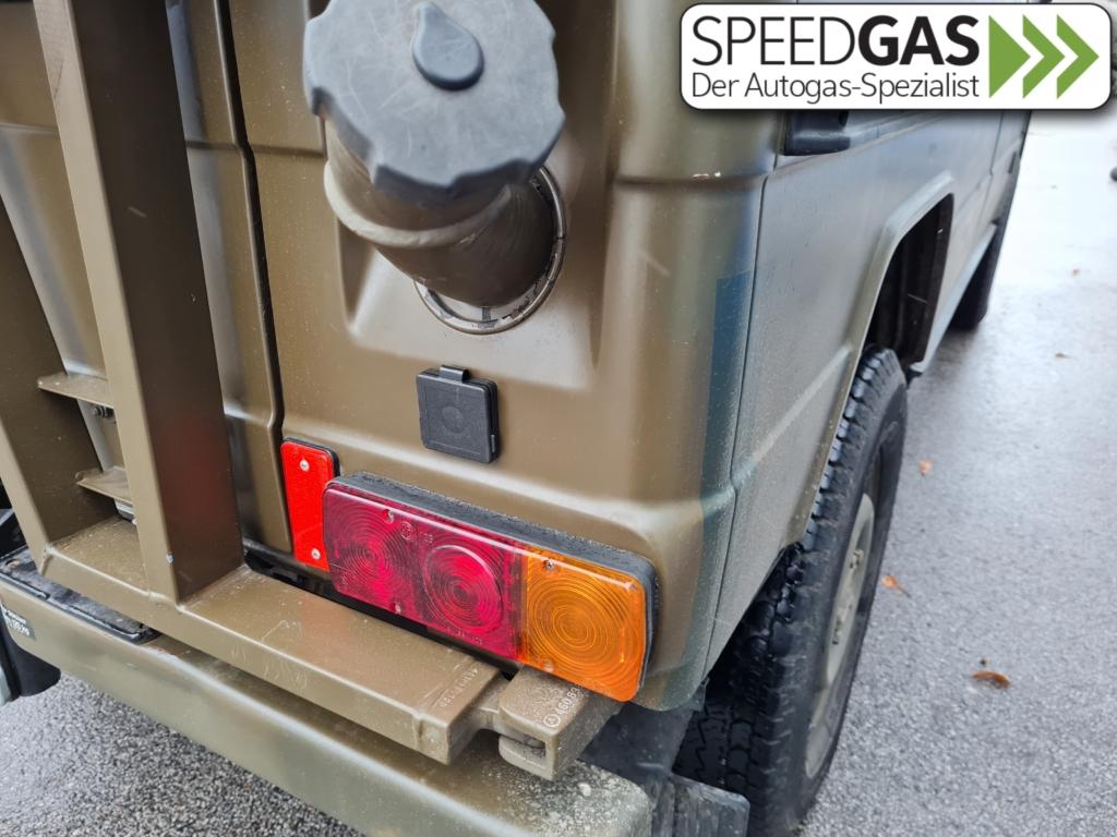 Puch GE230 HK-Flach Tankstutzen