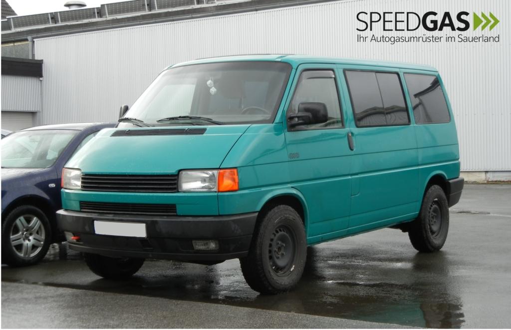 VW T4 Gasanlage