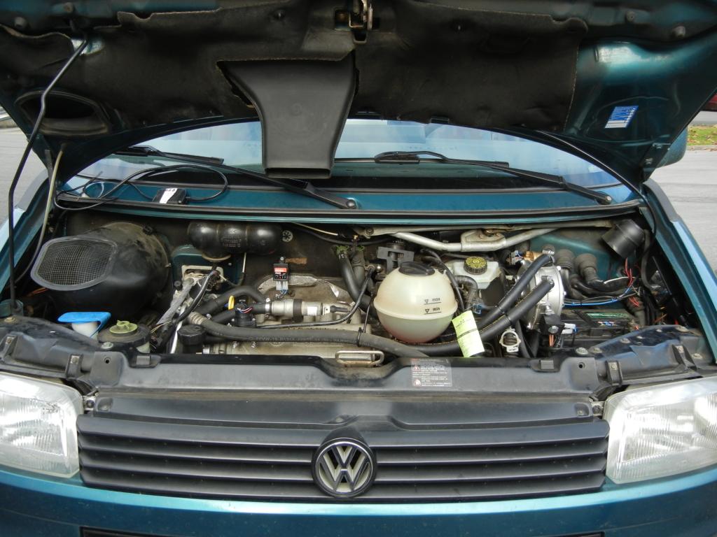 VW T4 2,5 Motor und Gasanlage